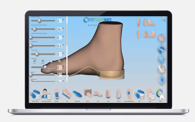 FITFOOT360 in Action - Creating rigid shells - a non-clinical overview